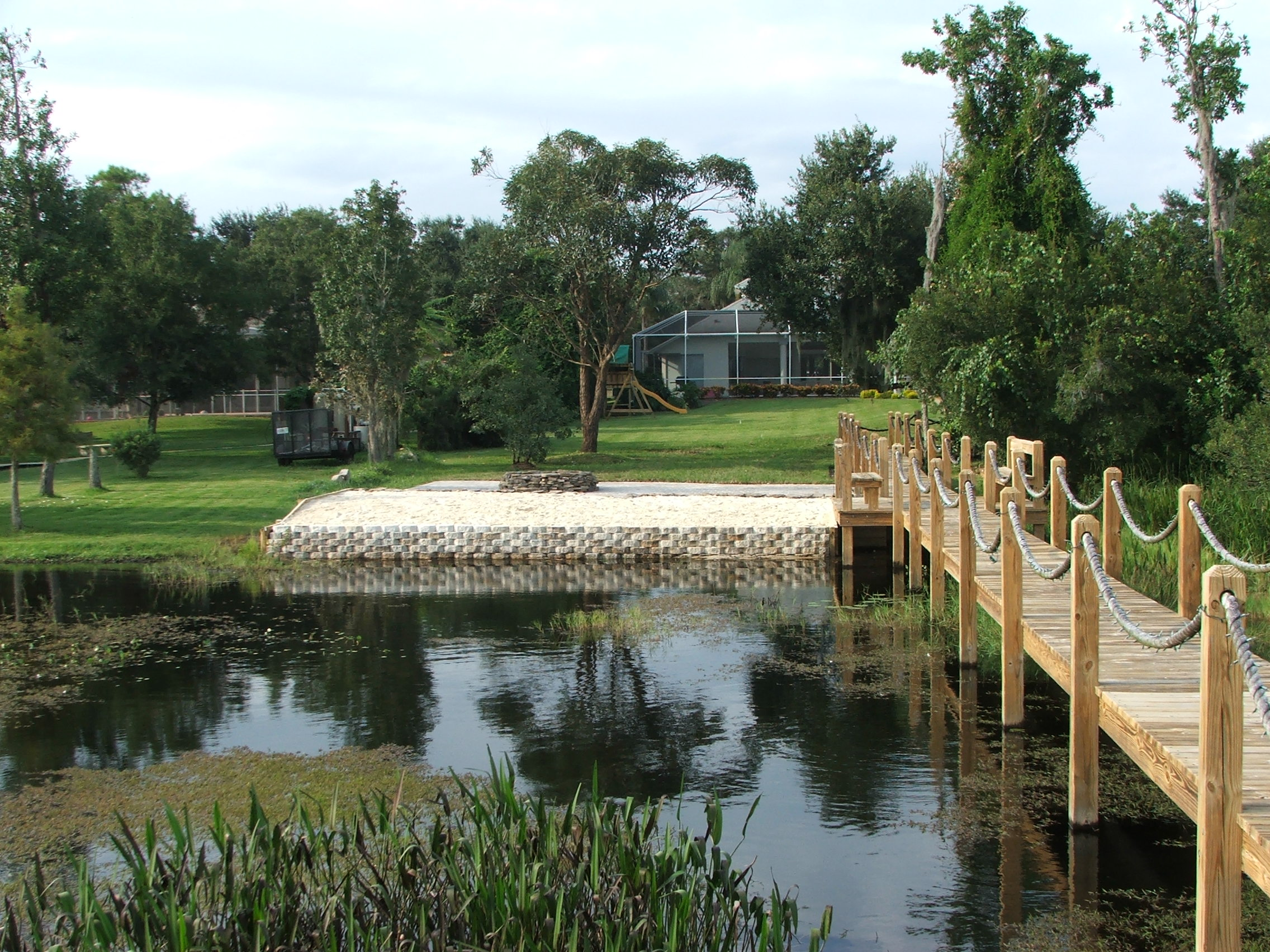 Water Retaining Landscape : Retaining water festival gay